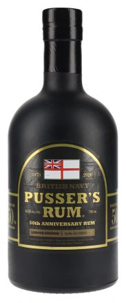 Pusser's Gunpowder 50Th Anniversary Rum