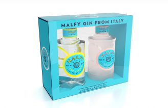 Malfy Twin Pack 2x350ml Rosa Limone, 41%