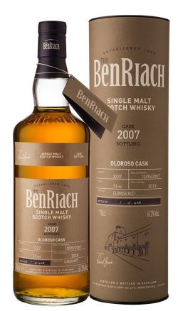 Benriach 11YO 2007 Oloroso Butt