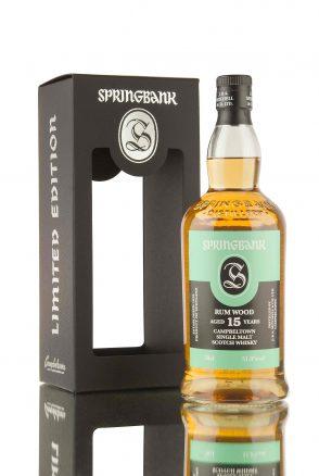Springbank 15 Rum Wood