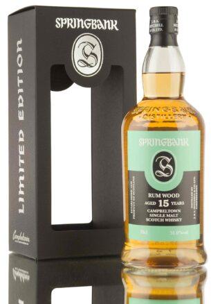Springbank 15YO Rum Wood