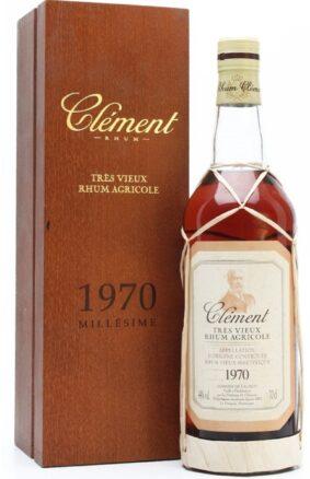 Clement Tres Vieux Rhum Agricole 1970