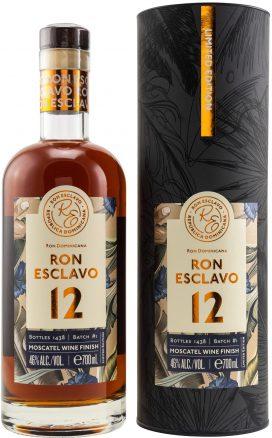 Ron Esclavo 12YO Limited Moscatel