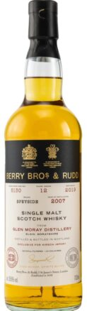 Berry Bros & Rudd Glen Moray 12 YO Rum Cask