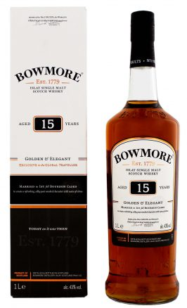 Bowmore 15YO Golden & Elegant