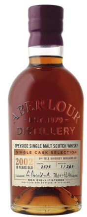 ABERLOUR 18YO First Fill Sherry Hogshead