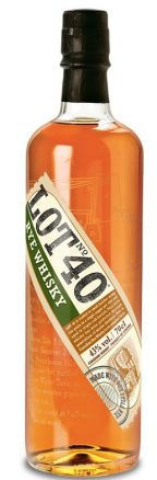 Lot 40 Rye Whiskey
