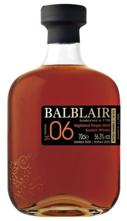 BALBLAIR 14YO 2006 Single Cask Sherry LMDW French Connections