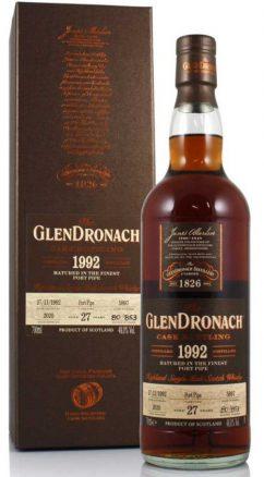 Glendronach 27YO 1992 Port Pipe
