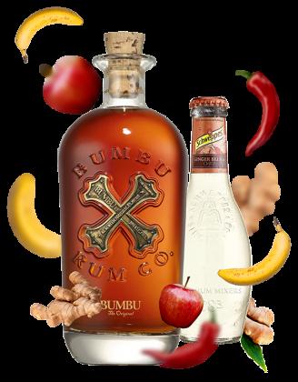 Zestaw Bumbu Original + 4x Schweppes Ginger Beer