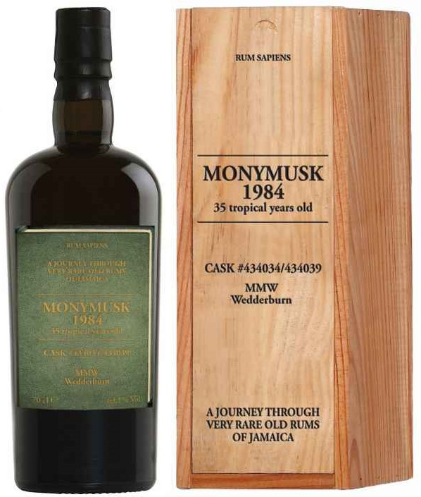 Monymusk MMW 1984 35YO Rum Sapiens