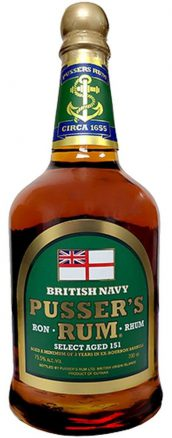 Pusser's Select Aged 151