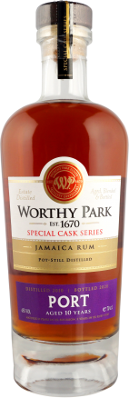 Worthy Park Special Cask Series PORT 2010