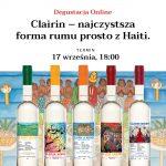 Degustacja Online Clairin – najczystsza forma rumu prosto z Haiti