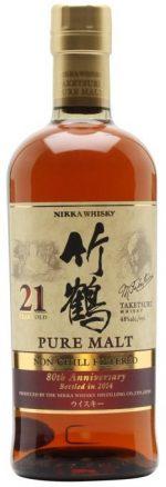 Nikka Taketsuru 21YO 80th Anniversary 2014